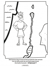 King David - Bible Coloring Pages | What's in the Bible?