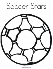 Soccer Ball Coloring Page | Coloring Pages