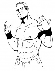 coloring pages of wwe wrestlers