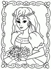 Coloring Book Pages Princess - Free Printable Coloring Pages