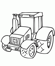 tractor coloring pages farmall b - photo#40